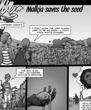 A Shujazz comic