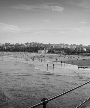 The Santander coastline