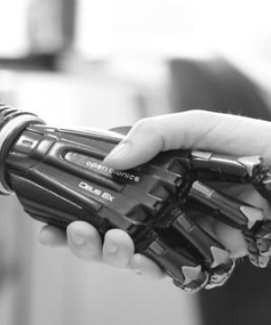 Open Bionics hand