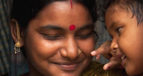 Bangladesh mother and baby