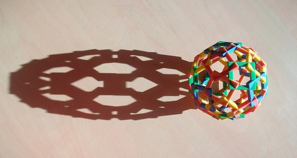 Shadow of 3D printed object