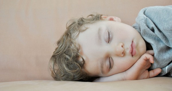 Child sleeping.
