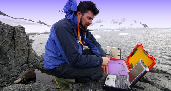 Digital Explorer's founder on an expedition in the arctic