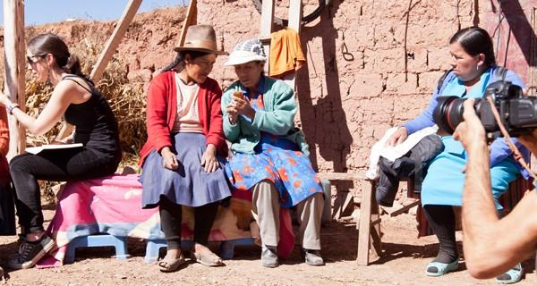 Quipu women activists