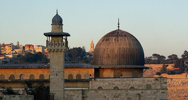 The old city area of Jerusalem