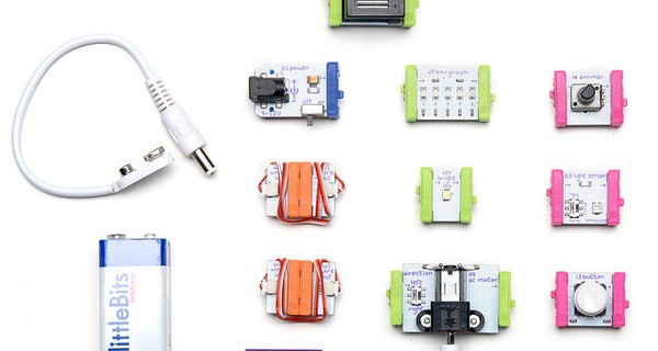 An overview of the bits in a littleBits Base Kit