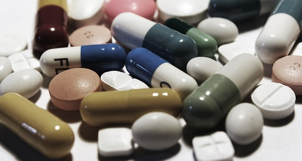 Photo of many different medical tablets